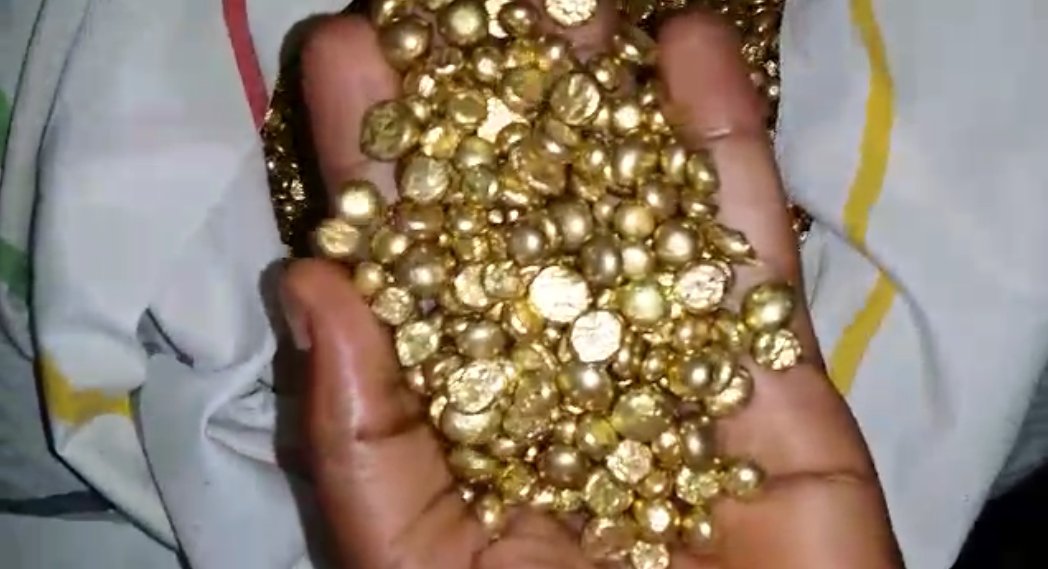 Gold from the congo